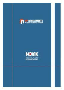 Cover Preisliste Novik Fassaden