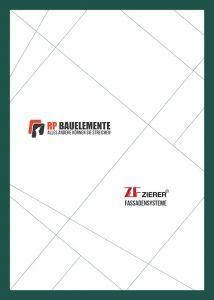 Cover Preisliste Zierer Fassaden