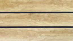 Rhombusleiste Kunststoff dekotrim 195 desert oak 3m