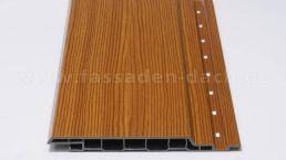 Keralit Fassadenpaneele 143 braun-redceder 6m