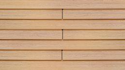 WPC-Rhombus-Fassade Die Gestaltende small eichenbraun 6m