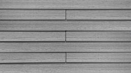 WPC-Rhombus-Fassade Die Gestaltende small Graphitgrau 4m