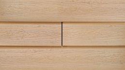 WPC-Rhombus-Fassade Die Gestaltende XXL Eichenbraun 6m