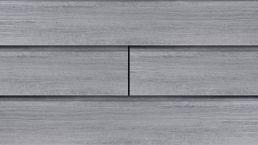 WPC-Rhombus-Fassade Die Gestaltende XXL dolomitgrau EXKLUSIV 4m