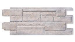 Fassadenplatte Novistone PHC smoke-white