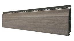 vinyPlus Stülpprofil anteak grey 6m