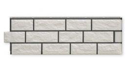 Zierer Fassadenbekleidungen in Bruchsteinoptik (gfK) weiß