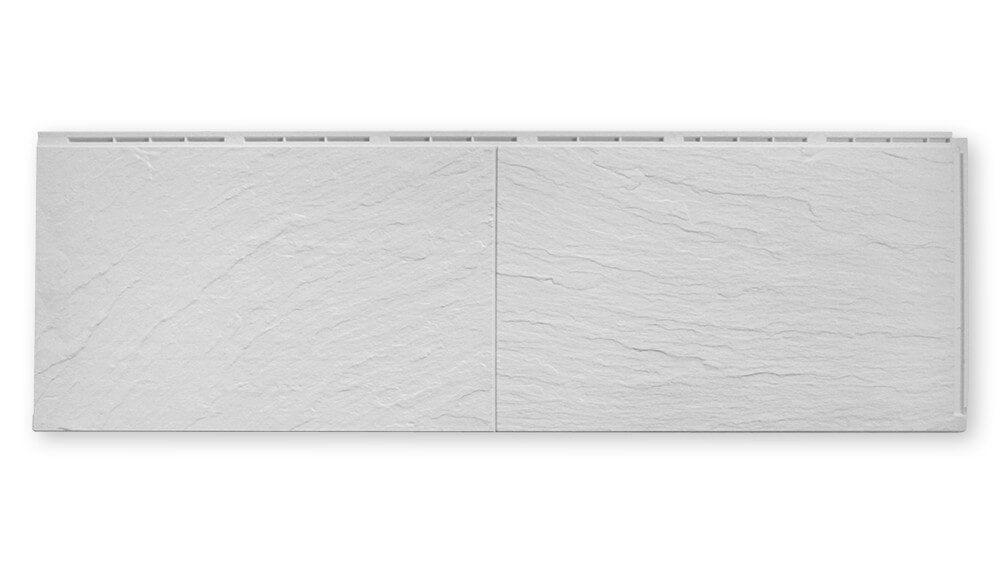 Zierer Fassadenplatten Schiefer-Optik SS1 (GFK) pastellgrau