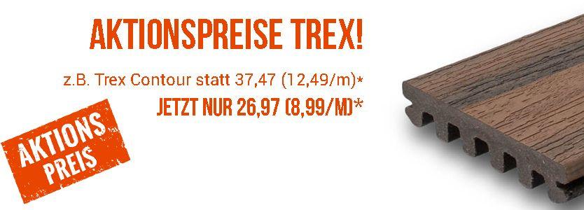 Rabatt WPC Terrassen