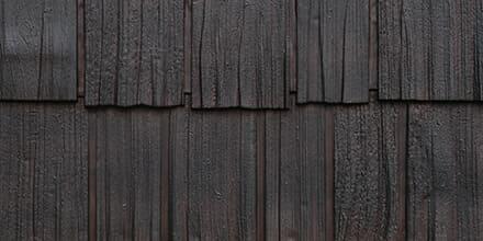 Fassadenverkleidung Schindeloptik