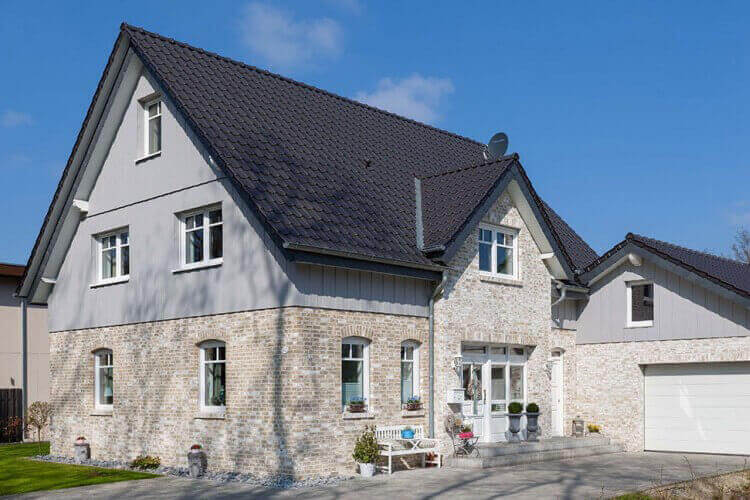 Fassadenverkleidung Landhaus