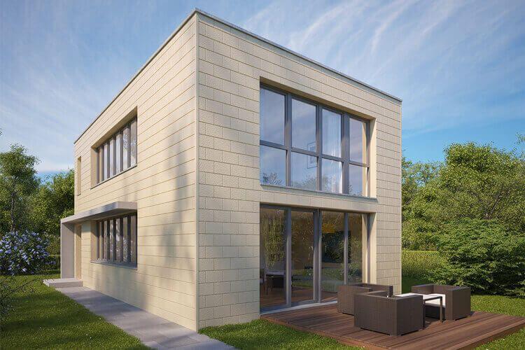 moderne Fassadenverkleidungen