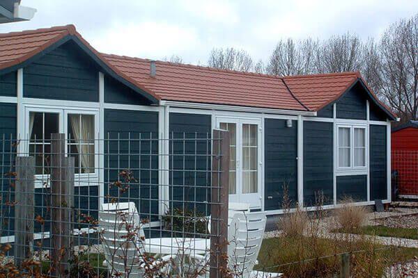 Gartenhausdach