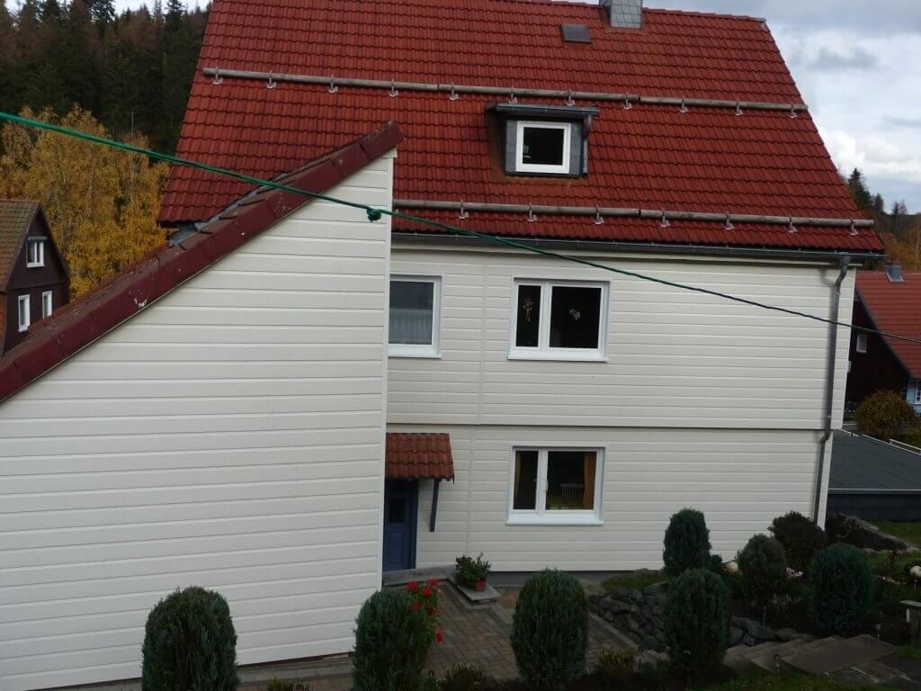 Nach der Fassadensanierung