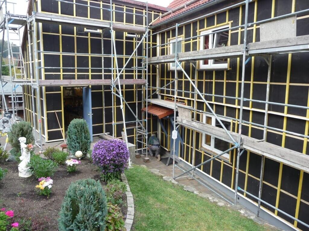 Fassadensanierung mit Dämmung