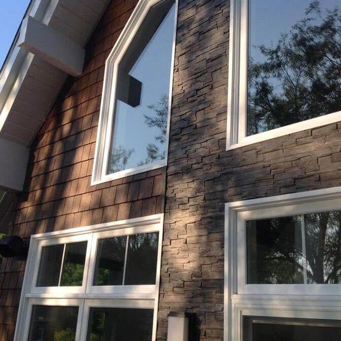 Novik Fassadenverkleidungen Beispiele
