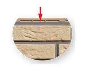 Schraubleiste Fassadenverkleidung
