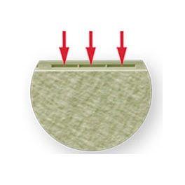 Schraubleiste der Fassadentafel