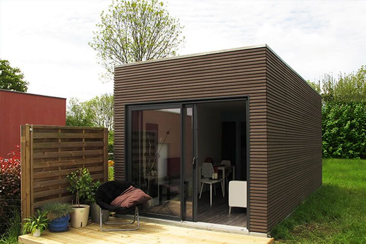 Fassadengestaltung tinyhouse