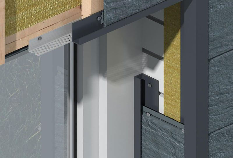 Laibung Fassadenpaneele