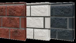 Fassadenplatte für den Sockel eines Mobilheimes