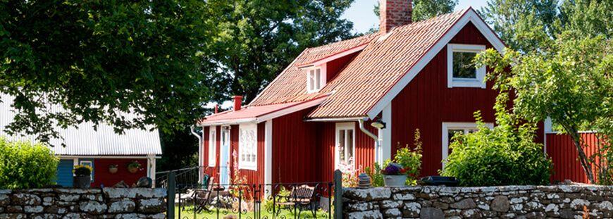 Fassadenverkleidung Schwedenhaus